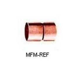 15 mm cobre meia int x int para refrigeração