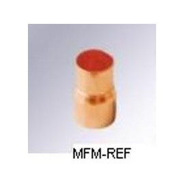 22a x 10 mm inschuifverloopsok koperen uitw x inw voor koeltechniek