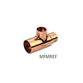 1/2 x 3/8 x 1/4 T-piece copper int-int-int  for refrigeration