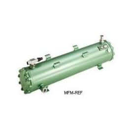 K1053H Bitzer intercambiador de calor condensador refrigerado por agua caliente gas