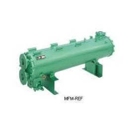 K4803T Bitzer  intercambiador de calor condensador refrigerado por agua caliente gas/agua de mar resistente