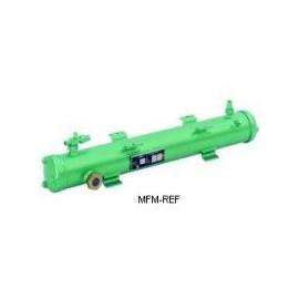 K1053HB Bitzer intercambiador de calor condensador refrigerado por agua caliente gas/agua de mar resistente