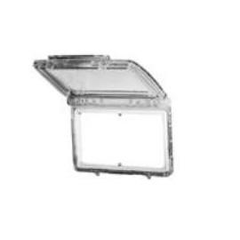 Eliwell Plexiglass Abdeckung Schutz vor Feuchtigkeit, Schmutz und Verletzungen