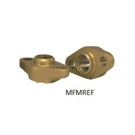 EVR/A/T 20 en 25 Flansche set Danfoss (22 mm) Verbindung Löten. 27L1222