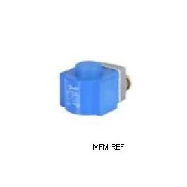 24V Danfoss coil for EVR solenoid valve DC d.c. with junction box IP67 018F6857