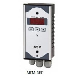 ALFA 23 VDH termostati dell'allarme elettronici 230V   -50°C / + 50°C