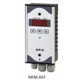 ALFA 23 VDH elektonische alarmthermostaat 230V -50°C / + 50°C