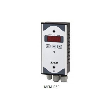 ALFA 23 VDH thermostat d'alarme électroniques  230V   -50°C / + 50°C