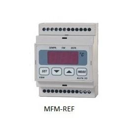 ALFA 55 RTDF VDH thermostat de dégivrage  230V  -50°C /+50 °C