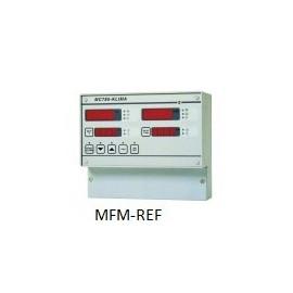 MC 785 KLIMA VDH universele microprocessor gestuurde klimaatregelaar 230V opbouw