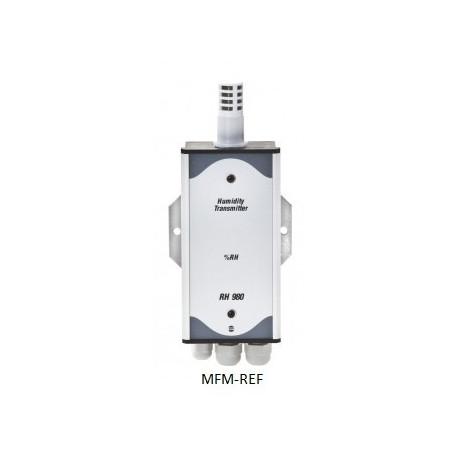 RH 980/T VDH sensor de hygrogaat 12-35 Vdc 0/100% RV  -20°C / 60°C