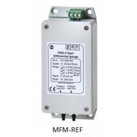 """PX 25-4 VDH Type 2 verschildruksensor max druk 0,075 bar 2x slangtule 1/8"""""""