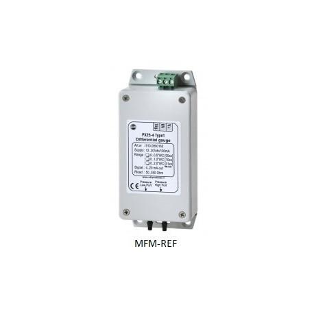 """PX 25-4 VDH Type 2  Pressão máx. sensor pressão diferença 0,075 bar 2x bocal da mangueira1/8"""""""