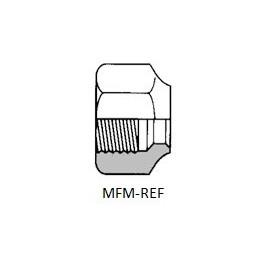 """NS4-4  Porca de capa (1/4"""") inw. SAE-flare"""
