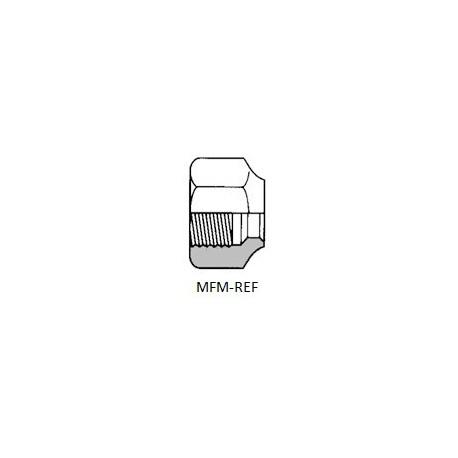 """NS4-4 wartelmoer (1/4"""") inw. SAE-flare"""