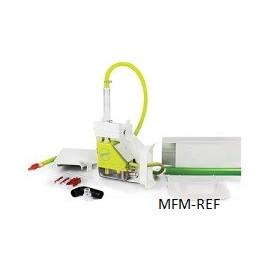 Aspen Mini Lime Silent+ pump, including 80 cm manual gutter Slimline  WHITE