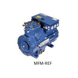 HGX34e/380-4 Bock compresor gas de succión se refrescaron uso de alta temperatura