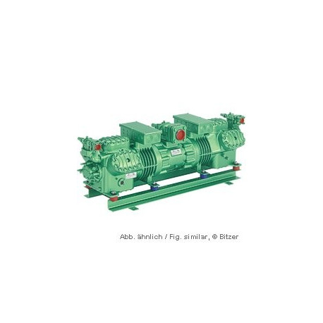 44GE-60Y Bitzer tandem compressore Octagon 400V-3-50Hz Part-winding.