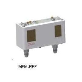 Danfoss KP15 DUO Pressosaat, refrigerantes não corrosivos - IP 33 - Ligação 1/4 flare. 060-126466