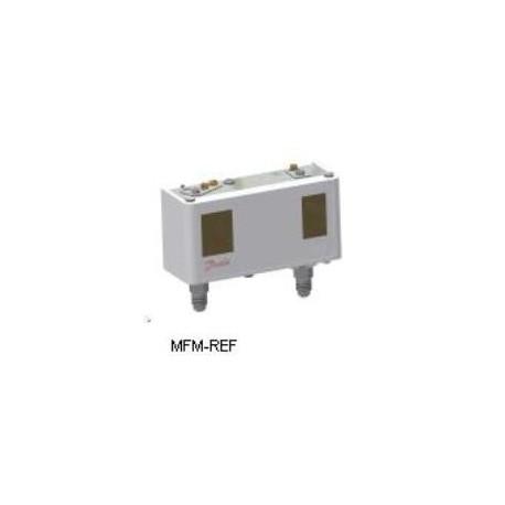 """KP15 Danfoss  Interruptor de pressão alta-baixa pressão 1/4"""" flare 060-115466"""
