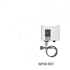 KP15A DUO Danfoss Pressostaat 1 m capilliare leiding M10 x 0,75 aansluiting. 060-128366