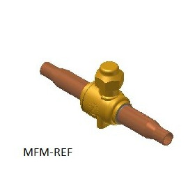 """GBC 6S Danfoss  ball valve (1/4"""" ODF) 009G7020"""