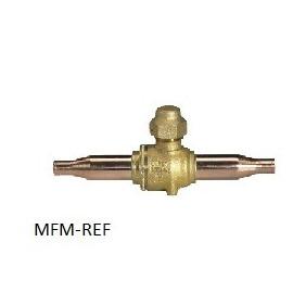 """GBC 6s H Danfoss robinet à boisseau sphérique (1/4"""" ODF) 009G7415"""