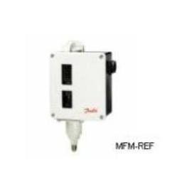 RT 117L Danfoss Interruptor de pressão com zona neutra ajustável 3/8'G 017L004266
