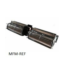 TGD 60/1 180-30 EMMEVI dubbel dwarsstroom ventilator midden aanbouw