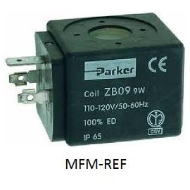 ZB09 Parker 110-120V 50/60 Hz Coil for Solenoid valve e