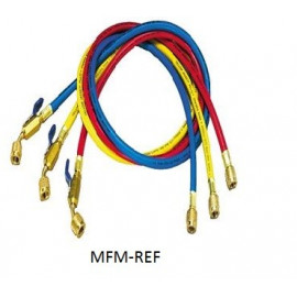 Yellow Jacket  meterset 3-hose set 1/4x0,9mx45°bv