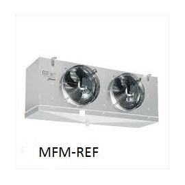 GCE 252E6 ECO Evaporador espaçamento entre as aletas: 6 mm