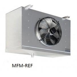 GCE 351E6 ECO Evaporador espaçamento entre as aletas: 6 mm