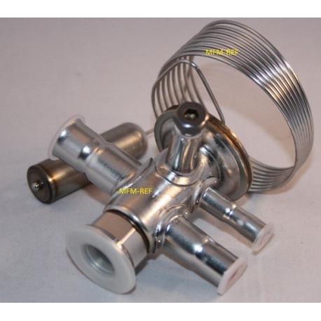TUAE Danfoss R407C 3/8 x1/2 la vanne d'expansion thermostatique MOP +15°C 068U2335