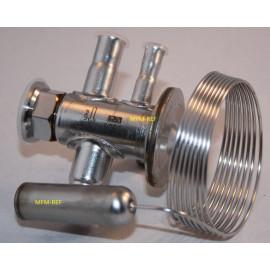 TUAE Danfoss R407C 3/8x1/2 expansieventiel bereik N -40°C tot +10°C MOP +15°C Danfoss nr.068U2335