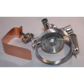 TUAE Danfoss R407C 3/8 x 1/2 thermostatisches expansion ventil, bereich N -40°C bis + 10°C MOP +15°C Danfoss nr.068U2335