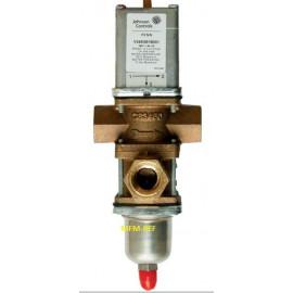 V248GB1B001C Johnson Controls válvula de control de agua dos vías 1/2