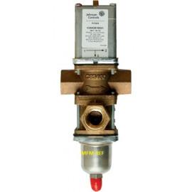 V248GC1B001C Johnson Controls  válvula de três vias 3/4 de água a pressão controlada