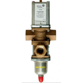 V248GD1B001C Johnson Controls  válvula de três vias 1 de água a pressão controlada.