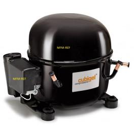 GX18TB-SA (AAAC4080A) R134a Cubigel hermetic compressor 1/2 pk 230V