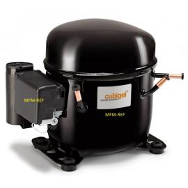 MP14TB Cubigel R404A / R507 hermetische compressor 1/2 pk 230V