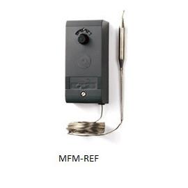 A28AA-9007 Johnson Controls misurata in termostato capillare bistadio meccanico,  -5 °C/ +28°C