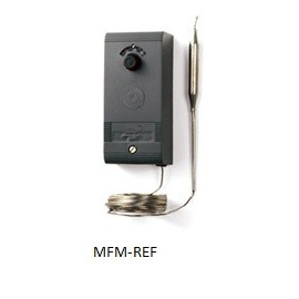 A28AA-9118 Johnson Controls misurata in termostato capillare bistadio meccanico,  -1°C /+60°C