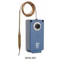 A28QA-9111 Johnson Controls  misurata in termostato capillare polvere-Seltzer stretta meccanica bistadio,  -5°C/ +28°C