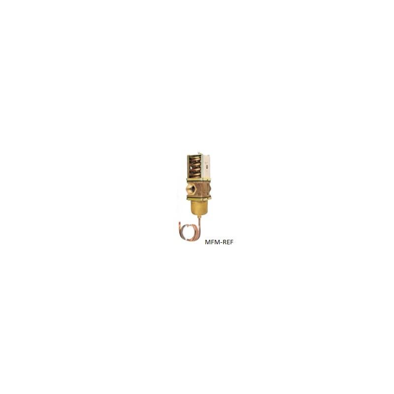 V46 BE-9511 Johnson Controls  vanne de régulation de l'eau avec robinet d'arrêt L'eau de mer1.1/4