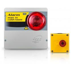 ECP APE 03 sicurezza personale in freezer allarme di sicurezza in camera
