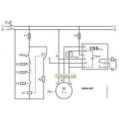 CSS-25U Emerson eletrônico softstarter 805205