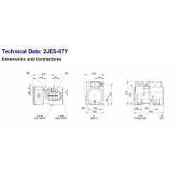 2JES-07Y Bitzer Ecoline compressor