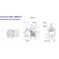 4EES-4Y Bitzer ecoline 4EC-4.2Y