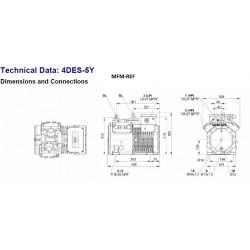 4DES-5Y Bitzer 4DC-5.2Y